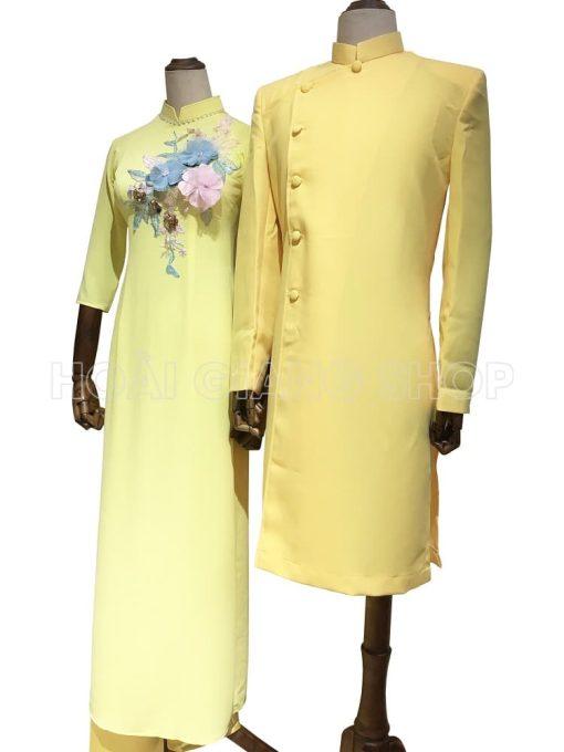 thuê áo dài bưng quả nam nữ