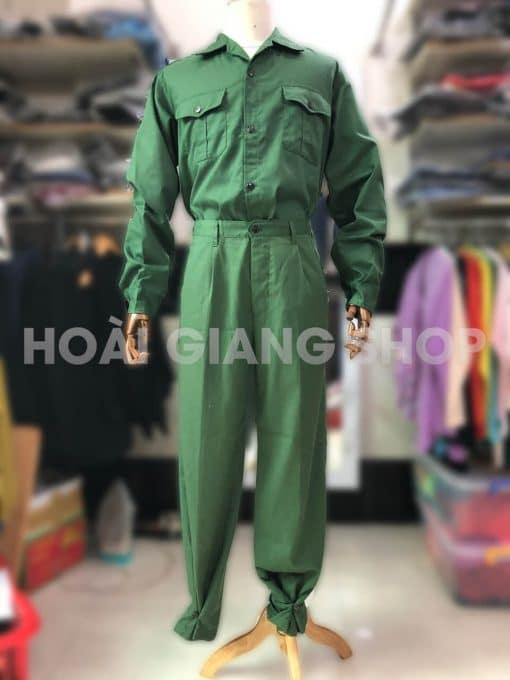 bán thuê trang phục bộ đội nam