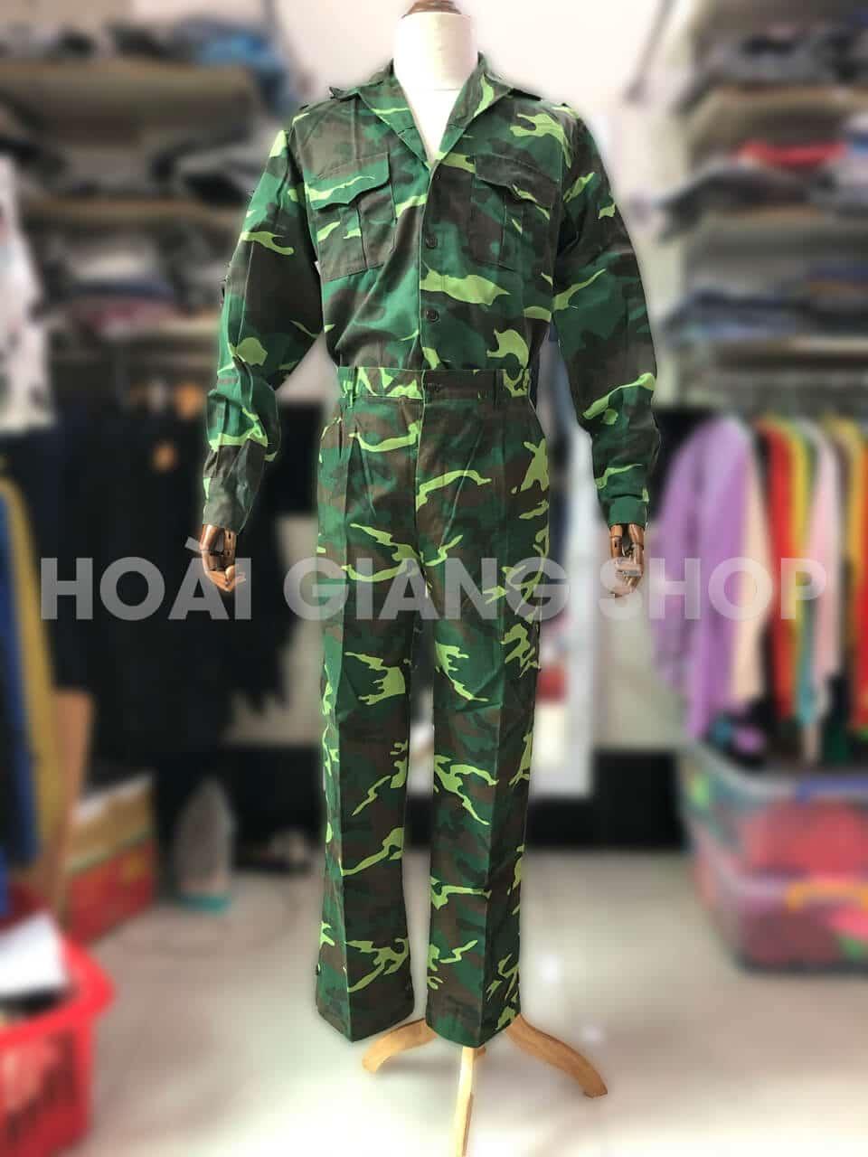 thuê trang phục lính rằn ri