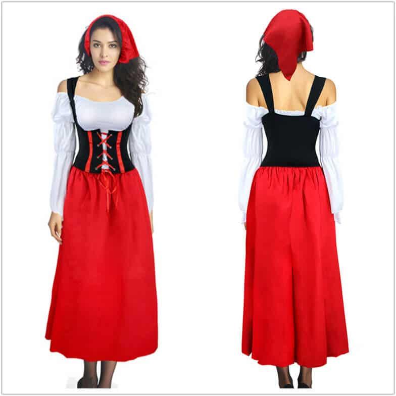 trang phục hầu gái