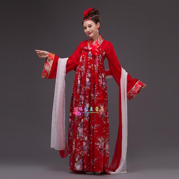 trang phục võ mị nương