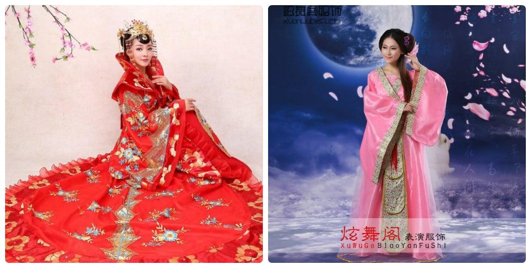 Nhận đặt hàng trang phục cổ trang Trung Quốc