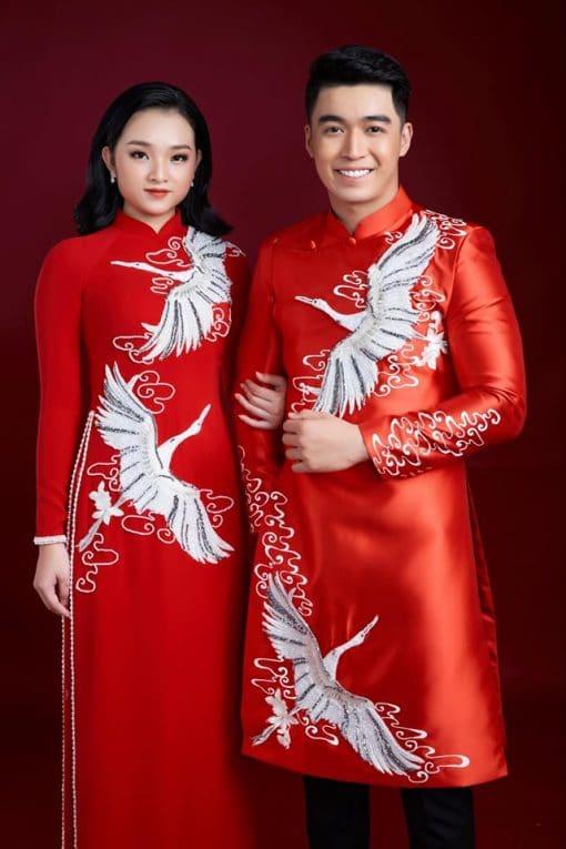 cho thuê áo dài cưới