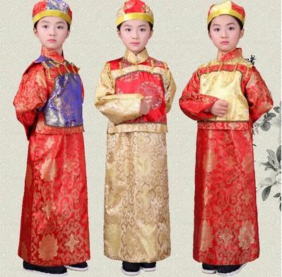 Trang phục Ngũ A Ca cho trẻ em