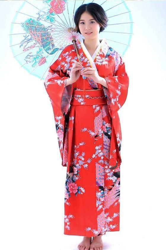 Lịch sử hình thành của trang phục Kimono