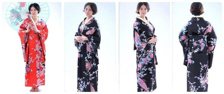 Địa chỉ bán kimono, yukata, trang phục Nhật Bản chất lượng hiện nay?