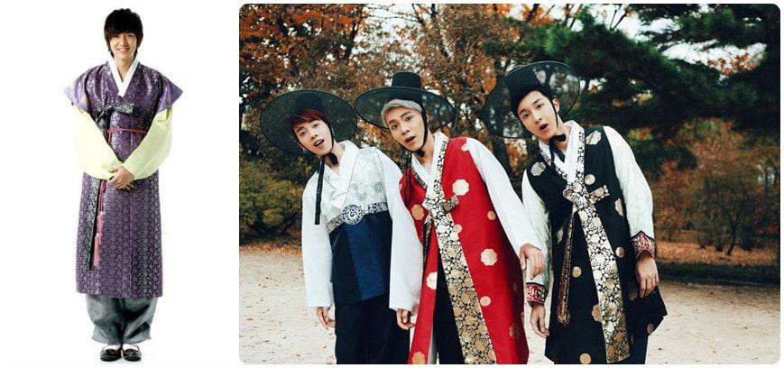 địa chỉ bán Hanbok nam chất lượng như sao Hàn