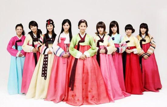 Địa chỉ có thể may được nhiều loại Hanbok khác nhau