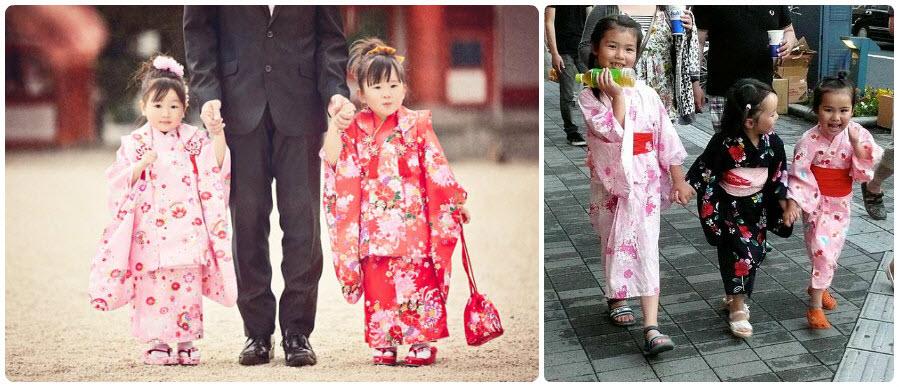 Gợi ý những mẫu kimono bé gái cho bộ ảnh xinh xắn