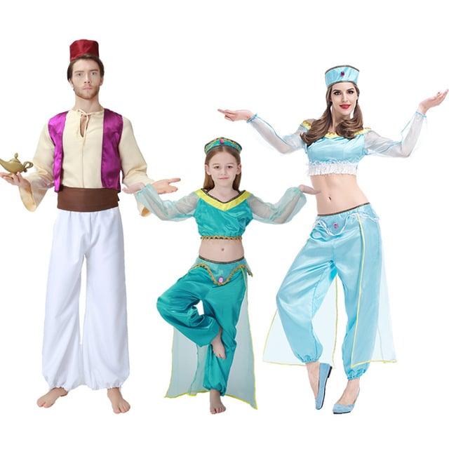 Cho thuê trang phục Aladin và công chúa Jasmine
