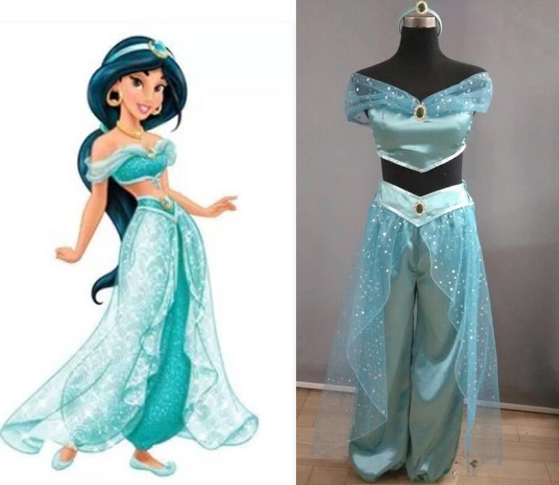 Cho thuê trang phục công chúa Jasmine