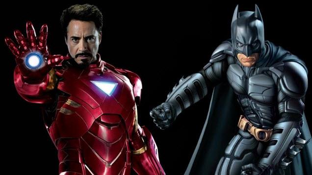 Cho thuê trang phục Ironman, Batman