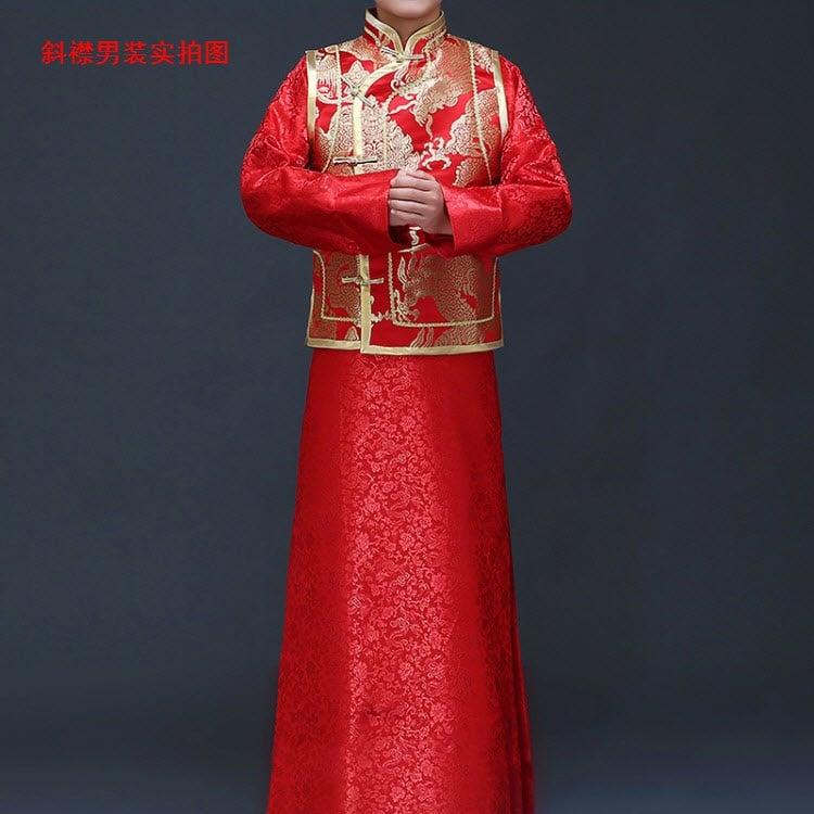 Trang phục cưới cổ trang Trung Quốc