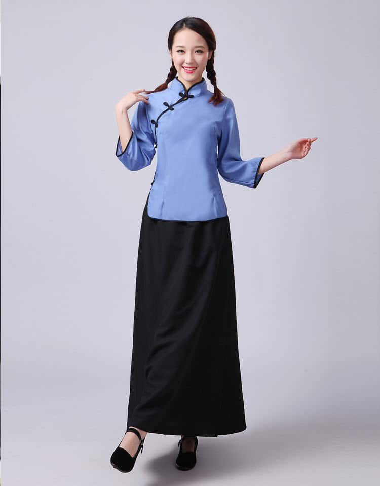 Trang phục nữ sinh Trung Quốc