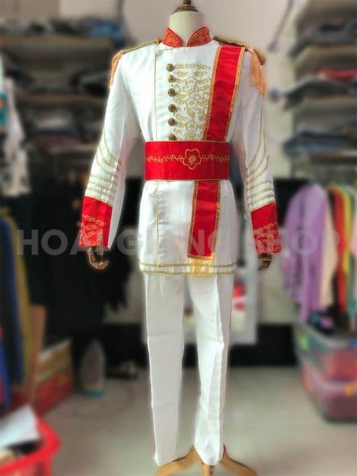 thuê trang phục hoàng tử