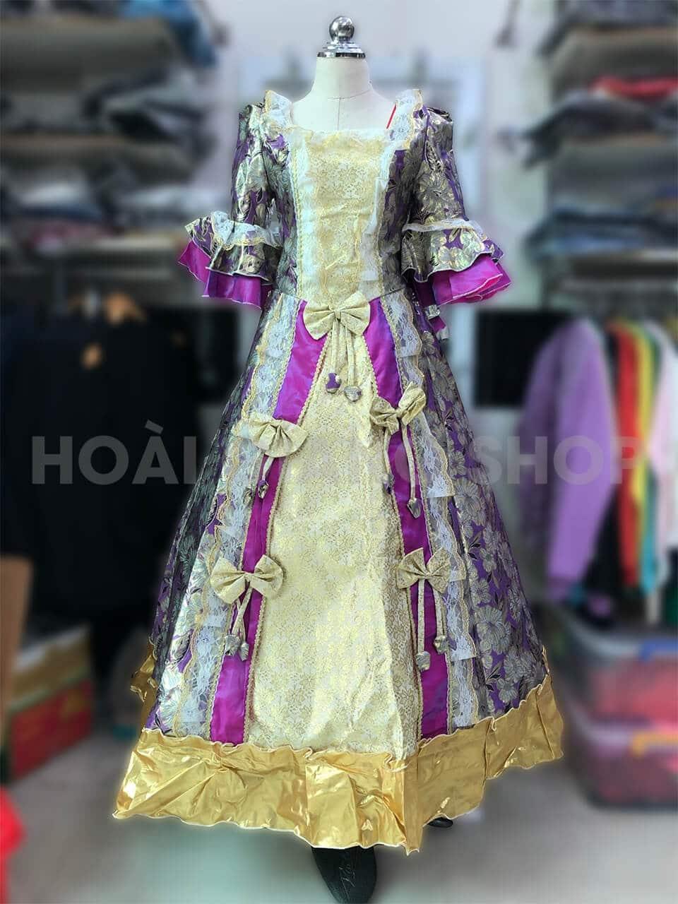 cho thuê trang phục quý tộc
