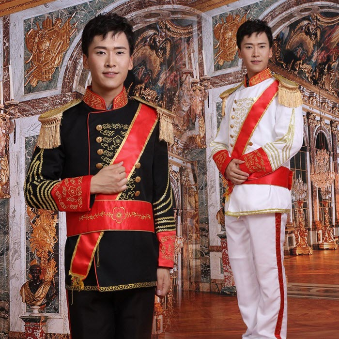 Trang phục hoàng tử Châu Âu