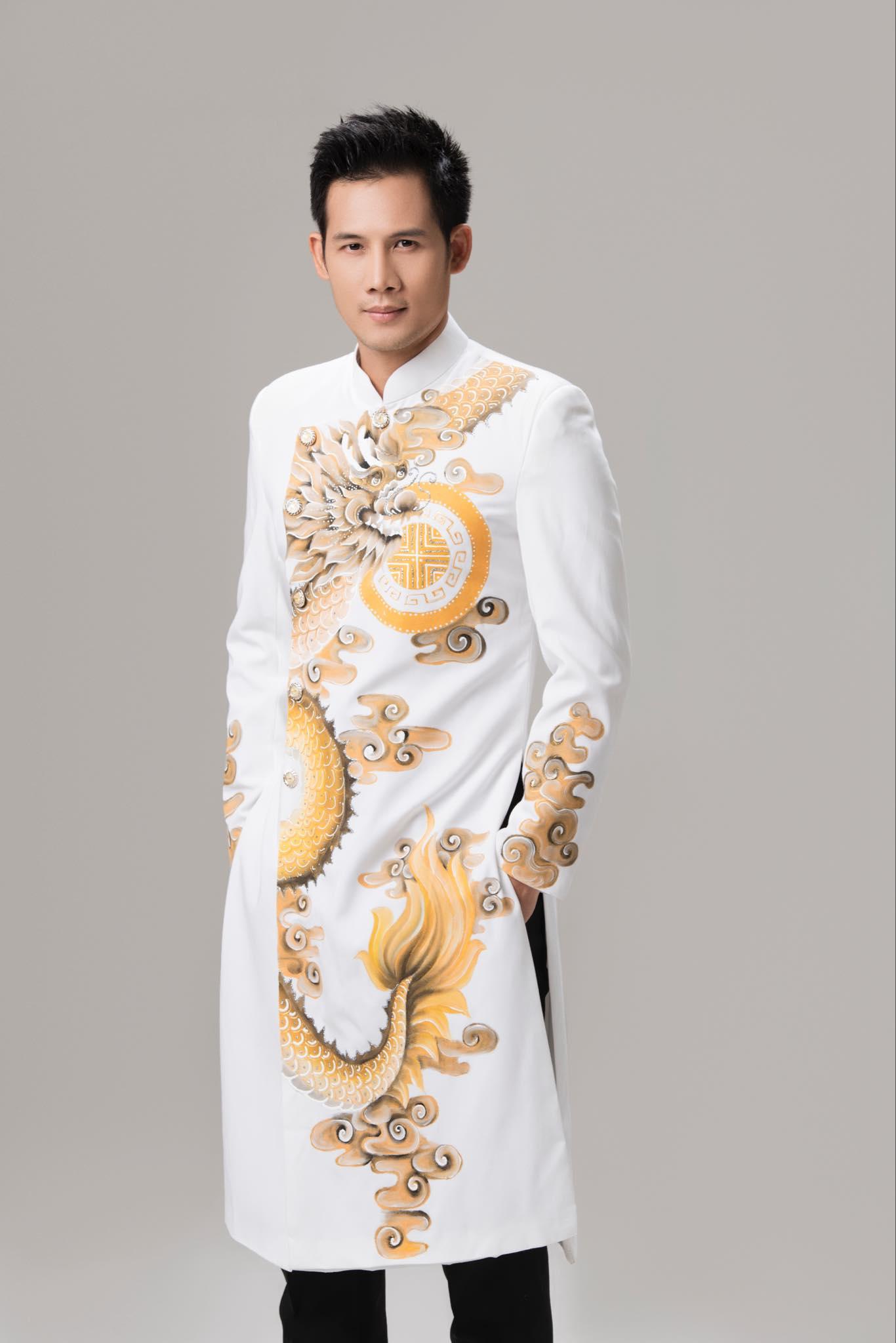 may áo dài nam cao cấp
