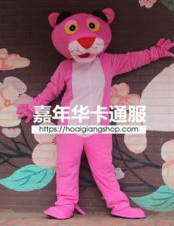 Mascot báo hồng