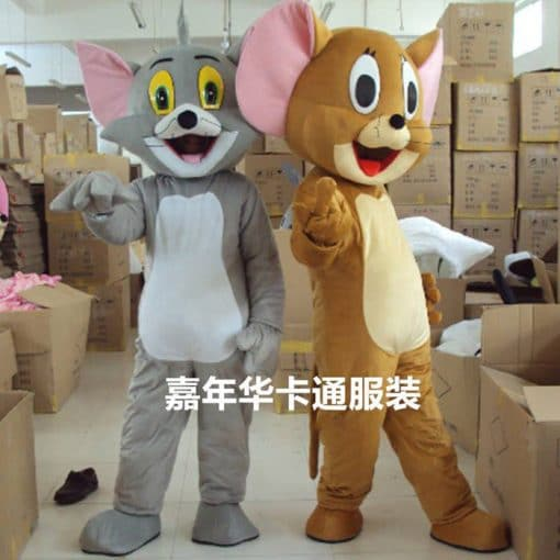 Mascot thú bông Tom and Jerry