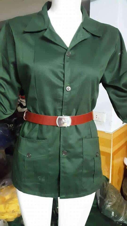 Trang phục bộ đội nữ
