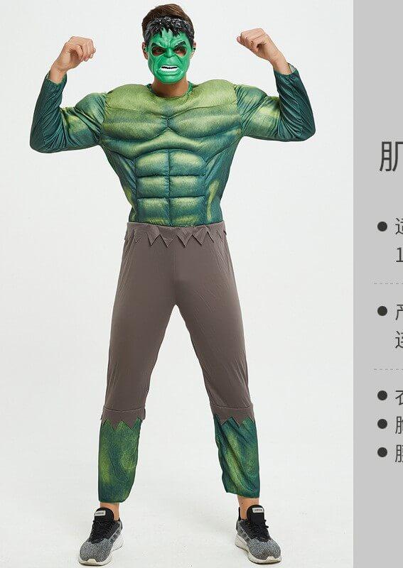cho thuê trang phục khổng lồ xanh