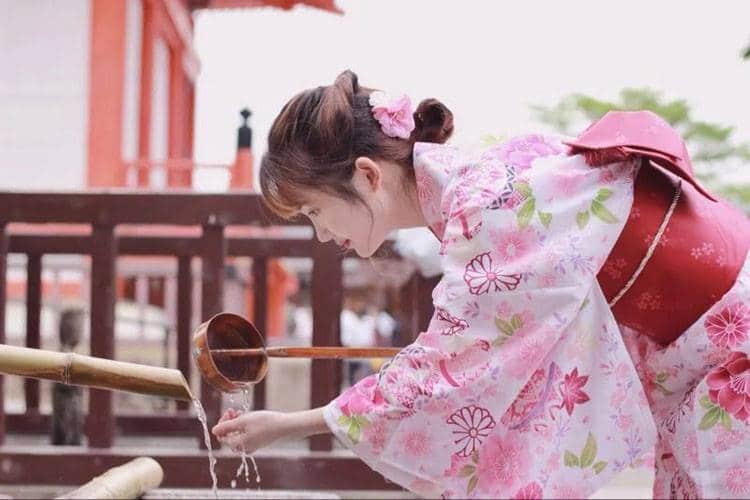 Yukata Nhật Bản cotton