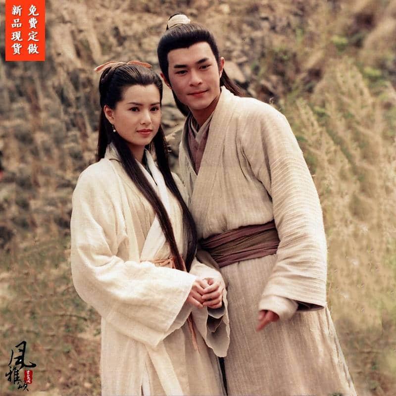 Trang phục Dương Quá - Tiểu Long Nữ