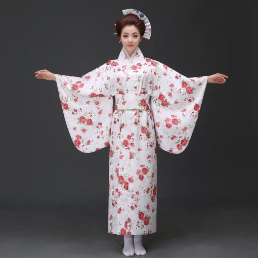 Trang phục Yukata gấm hoa