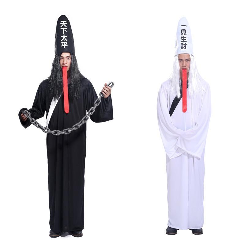 Trang phục Hắc Bạch vô thường được biến hóa đa dạng