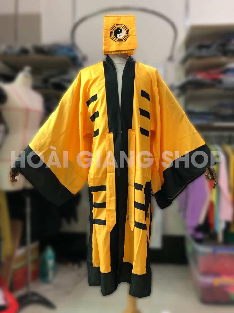trang phục pháp sư bắt ma