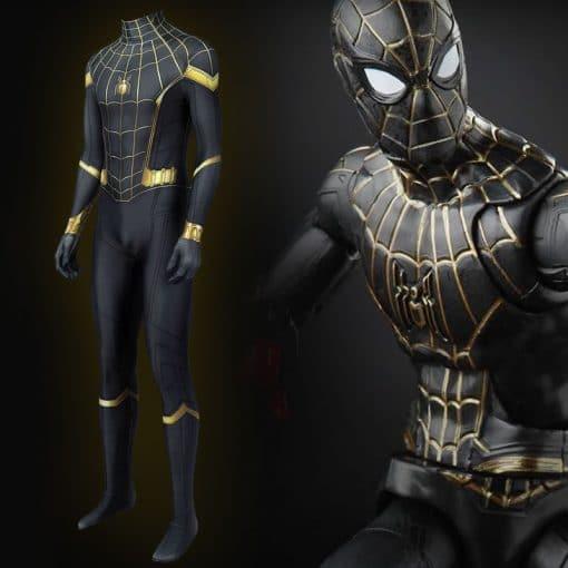 trang phục người nhện spiderman