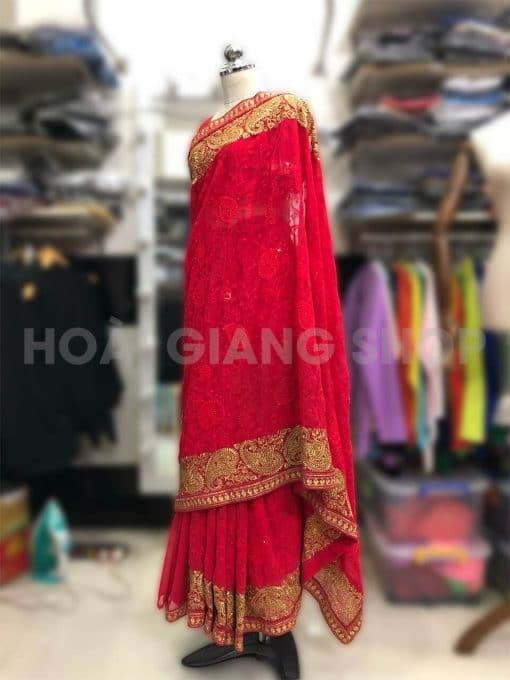 cho thuê trang phục sari ấn độ