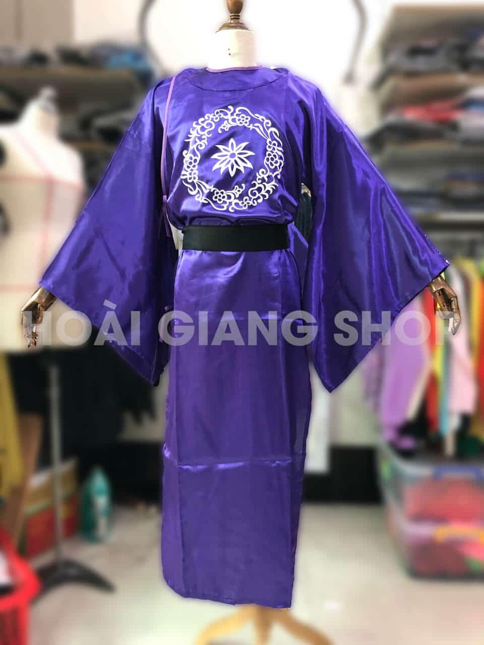 trang phục thái giám màu tím