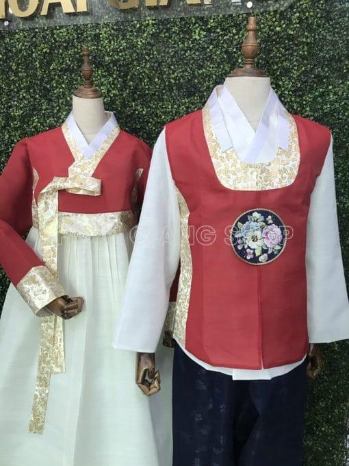 cho thuê hanbok cưới