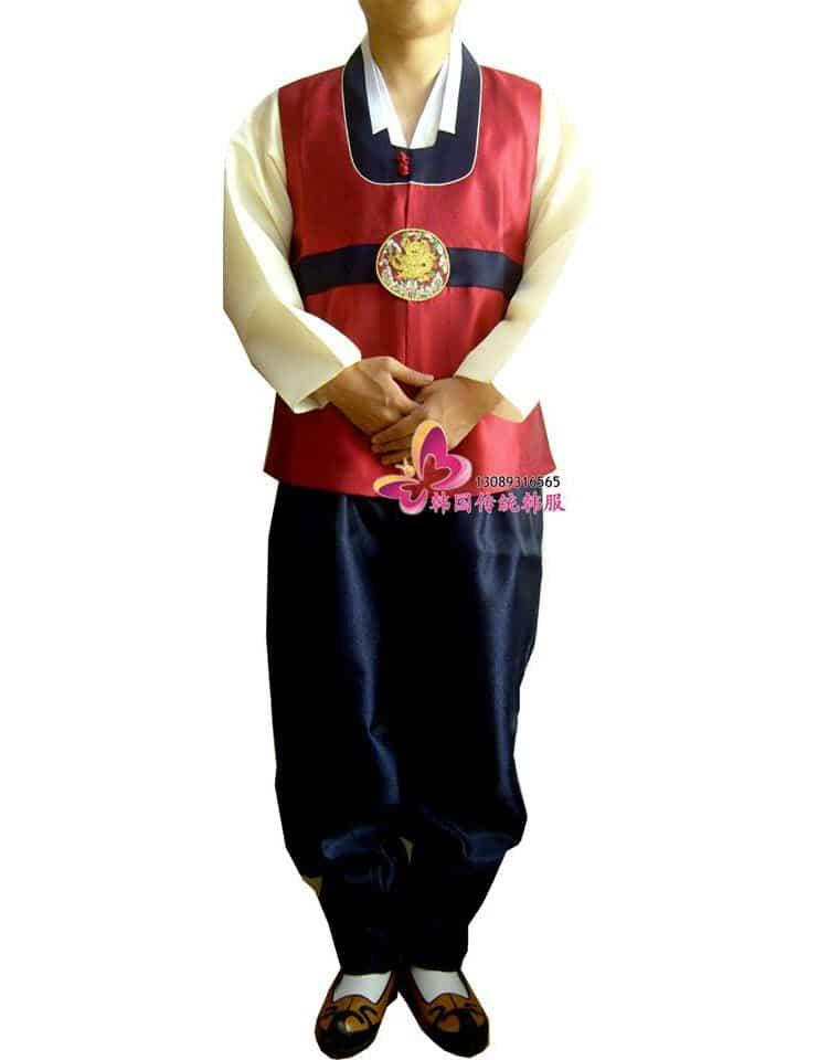 Hanbok nam Hàn Quốc