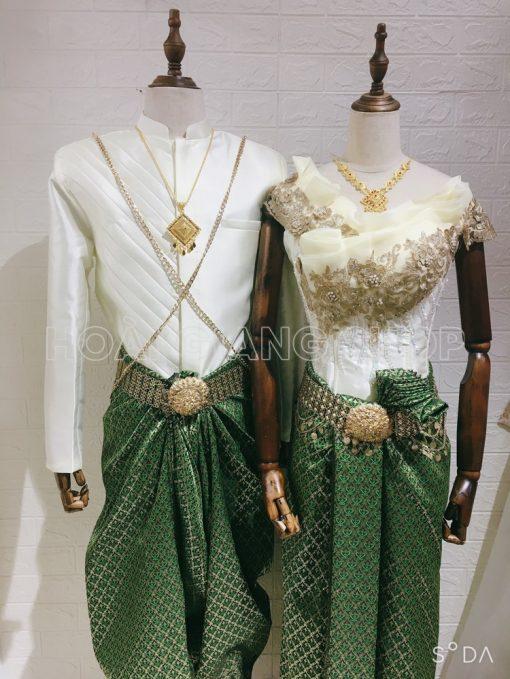 cho thuê trang phục Khmer campuchia