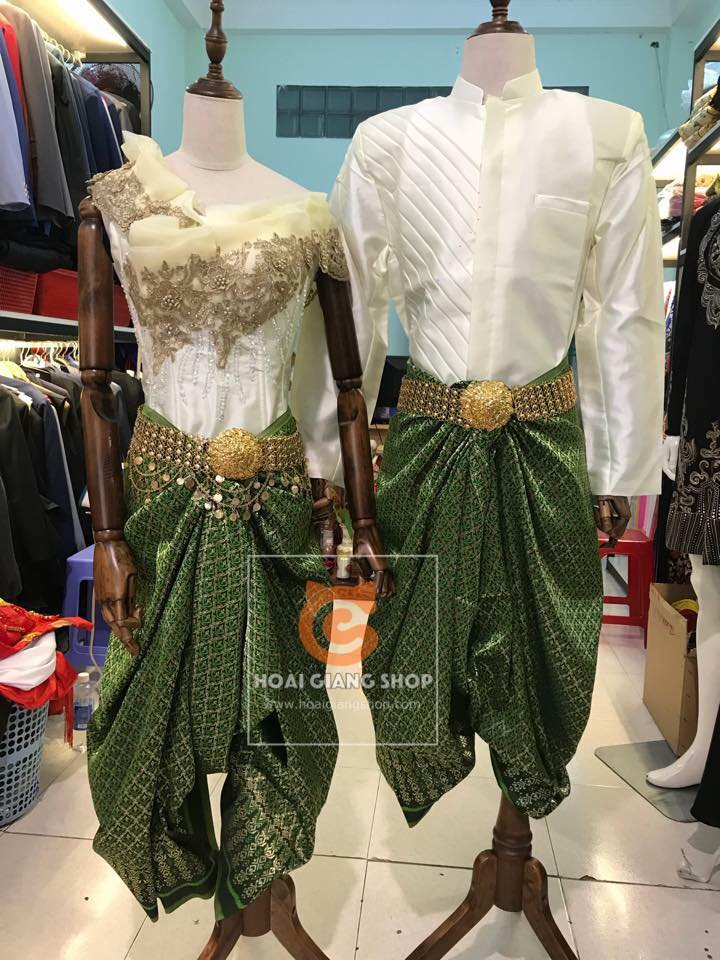 Trang phục Khmer, Campuchia