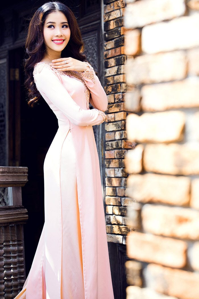 May đo áo dài nữ đẹp tại TPHCM