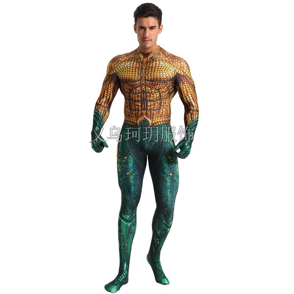 Trang phục Aquaman (Đế vương Alantic) 2019