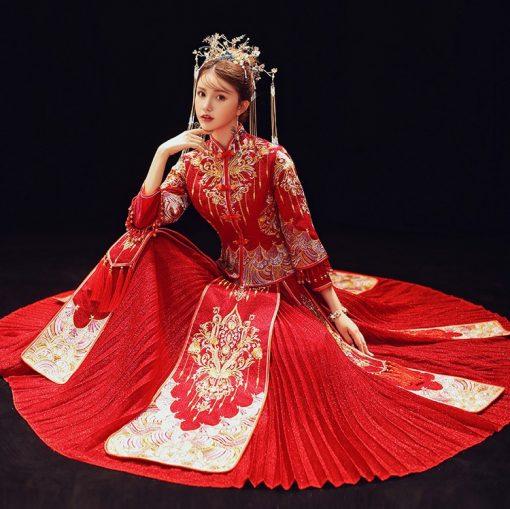 áo cưới trung quốc vct143