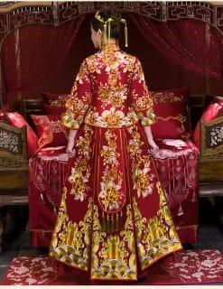 áo cưới truyền thống trung hoa