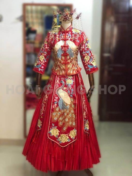 cho thuê áo cưới cô dâu trung hoa