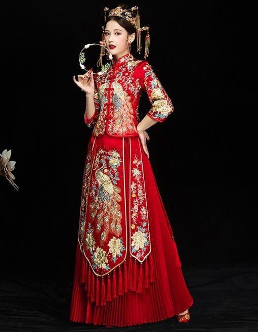 thuê áo cưới người hoa