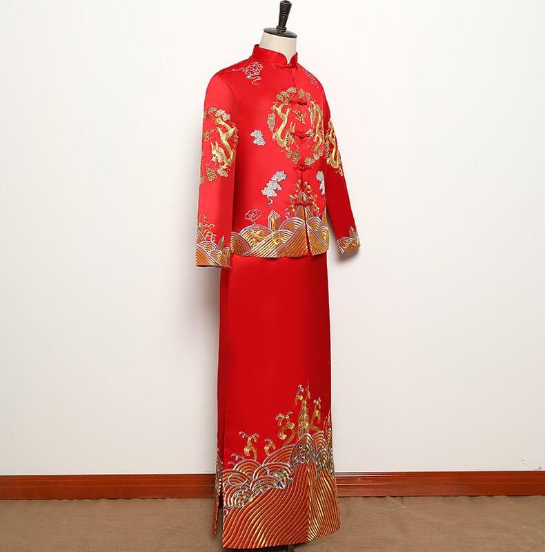 áo cưới truyền thống trung quốc