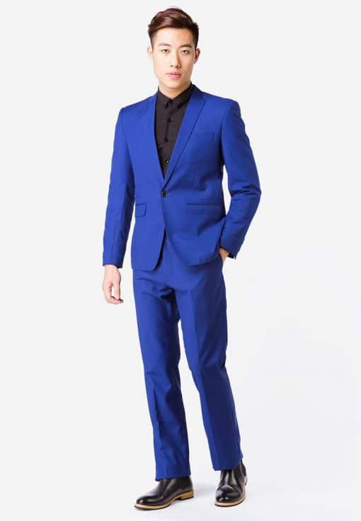 áo vest nam xanh coban