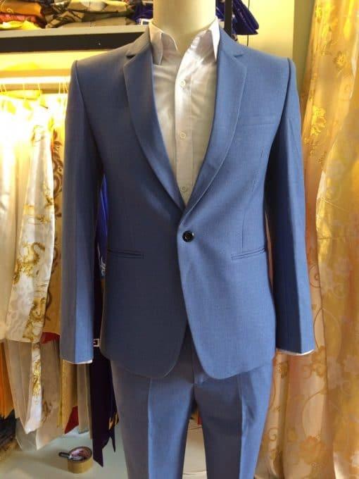 áo vest nam xanh nhạt trẻ trung