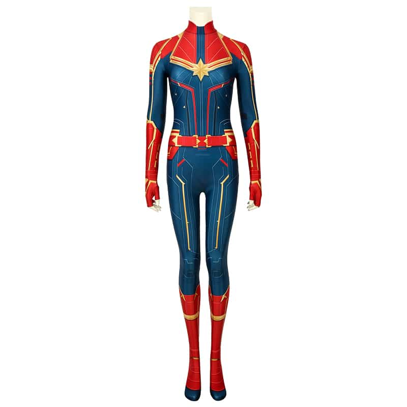trang phục captain marvel