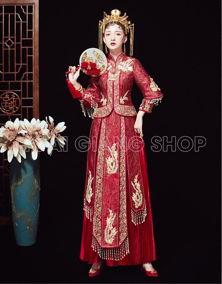 váy cưới trung hoa đẹp
