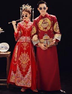 Đồ cưới, áo Khỏa
